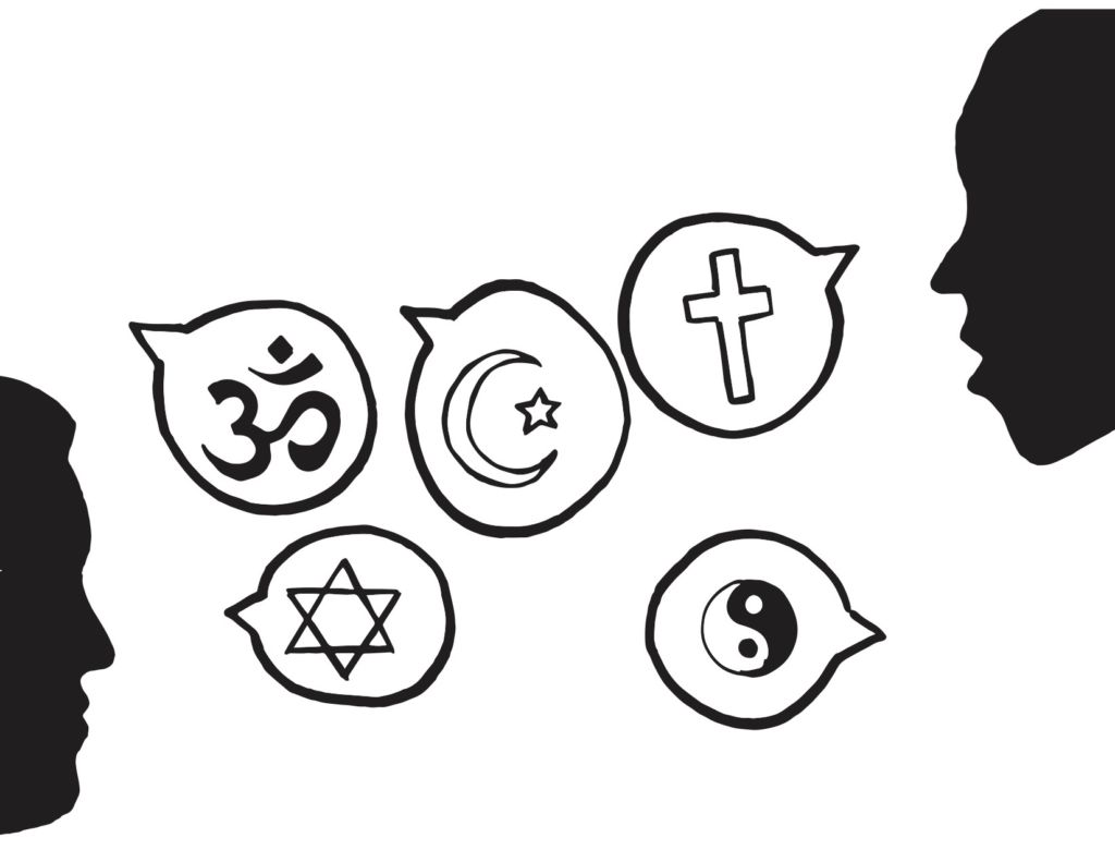 End religious stereotypes by encouraging discussion