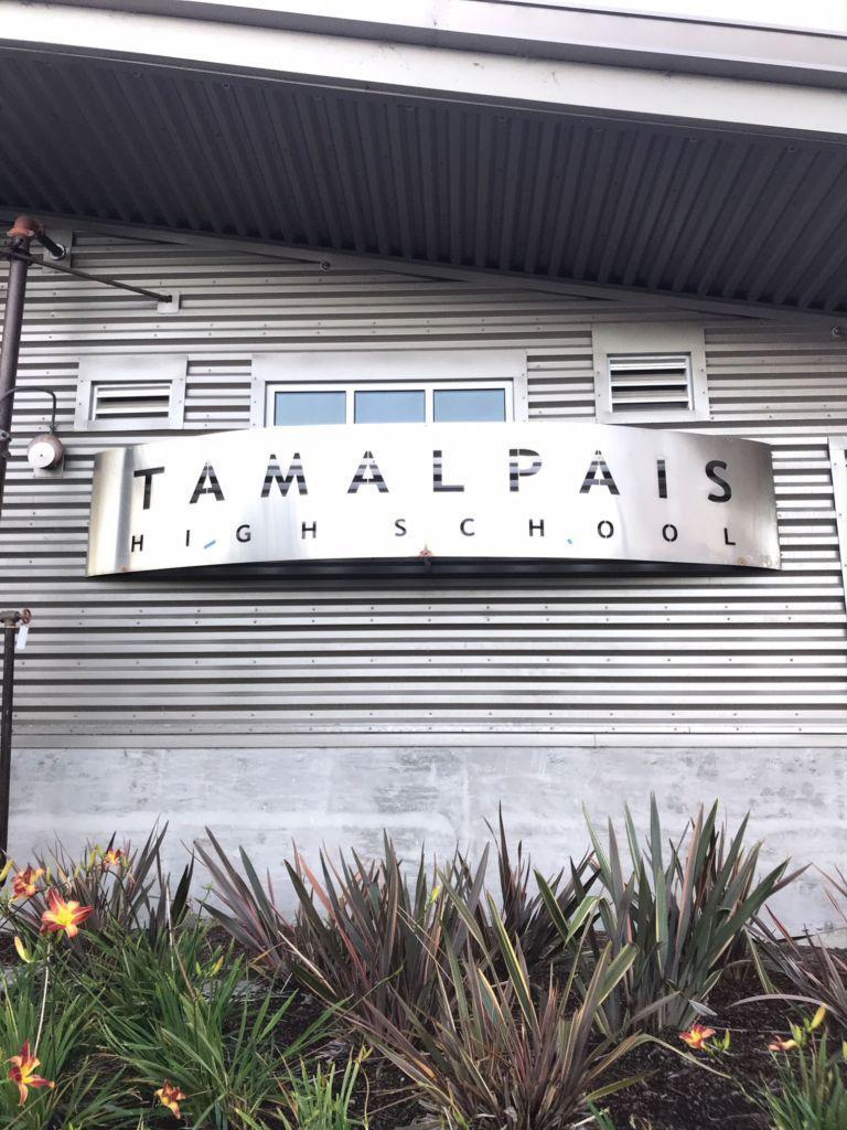 Tam High School's bathroom scratched by copycat threat