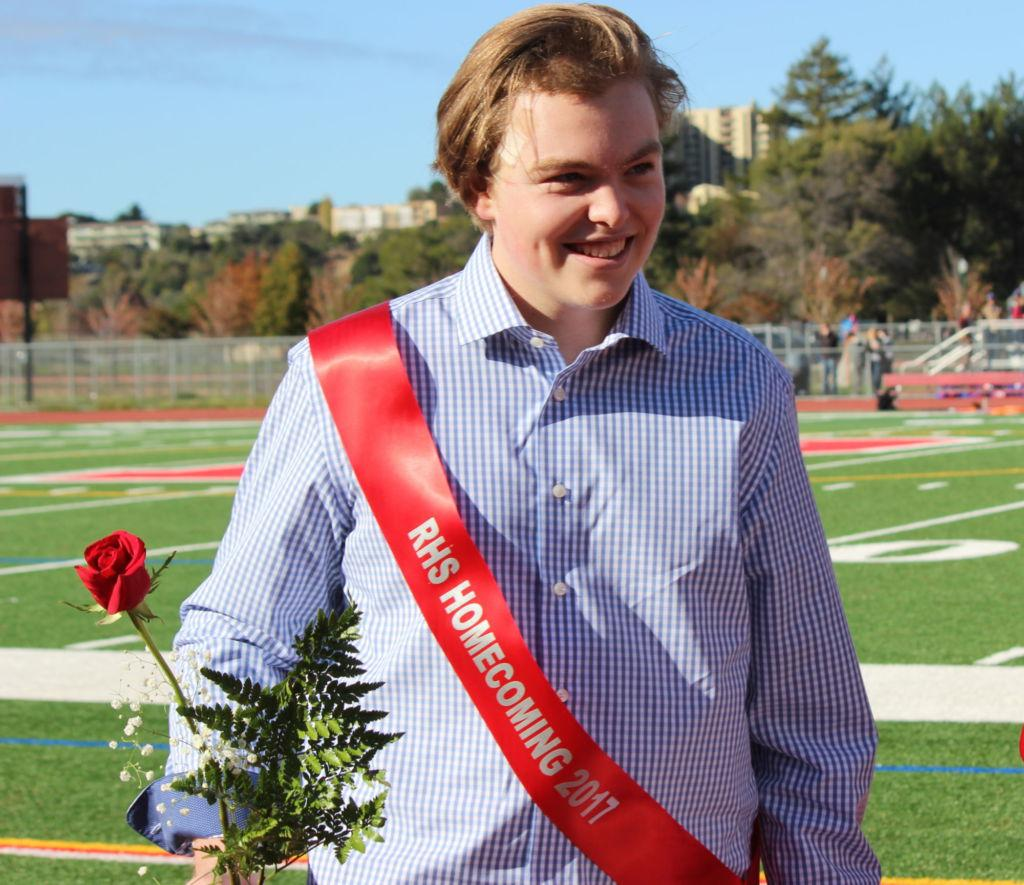 Ryan Brady's journey from hospital bed to homecoming court