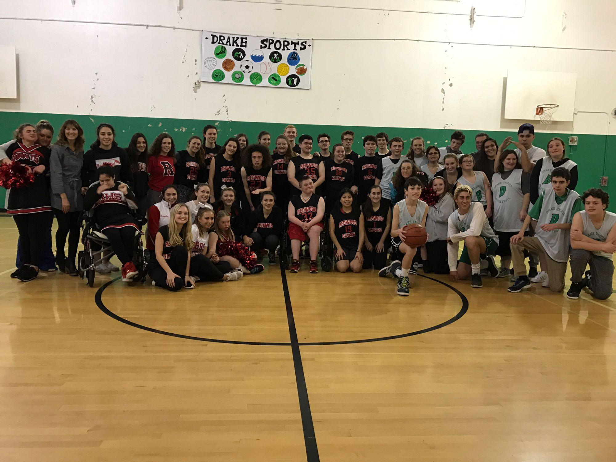 Unified basketball team strives to accomplish an unbreakable team dynamic in their pre-season