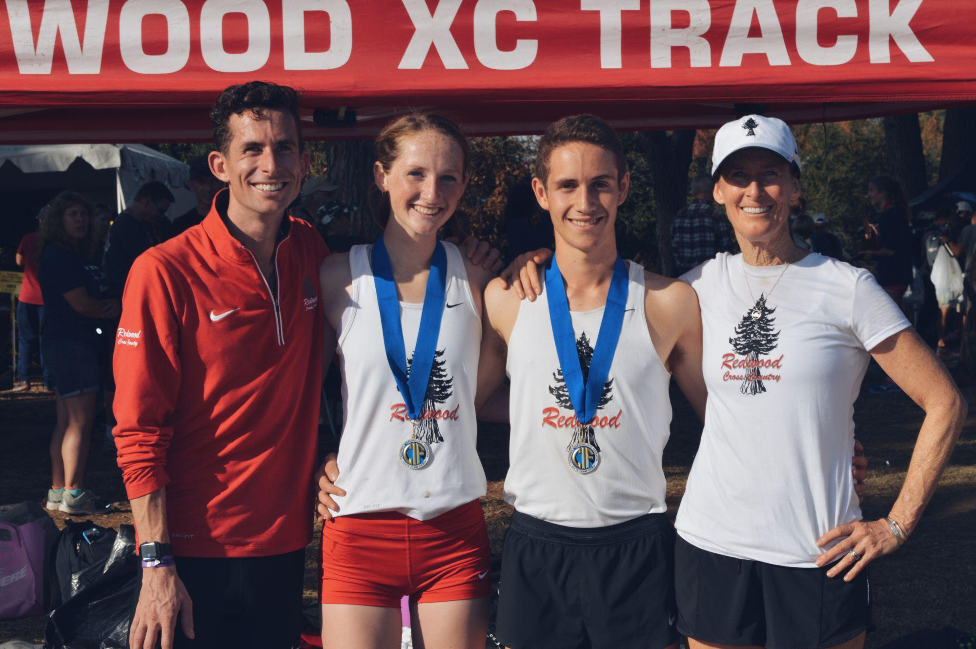 Cross country duo victorious at state cross country championships