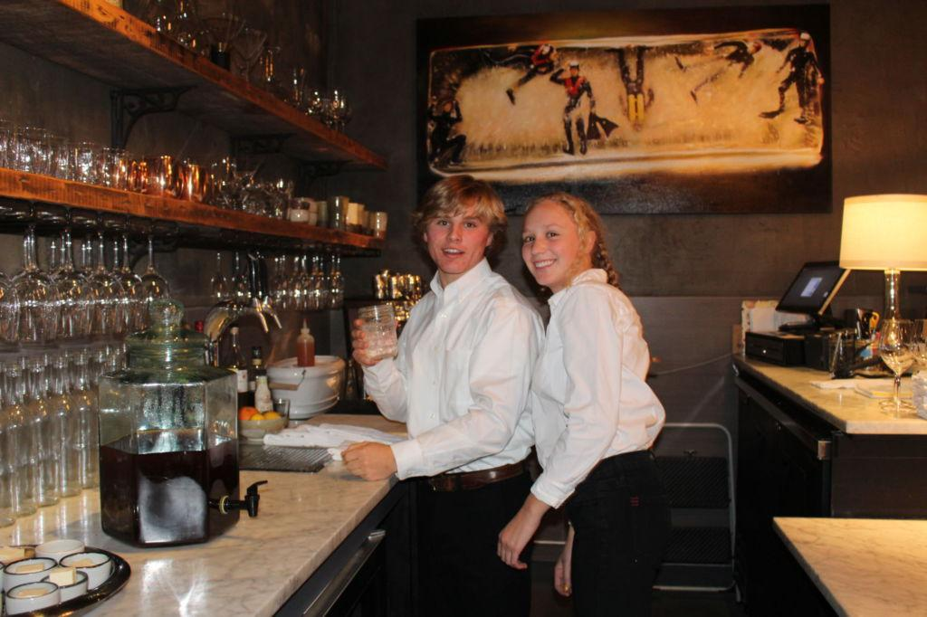 Extensive restaurant background fosters family connections