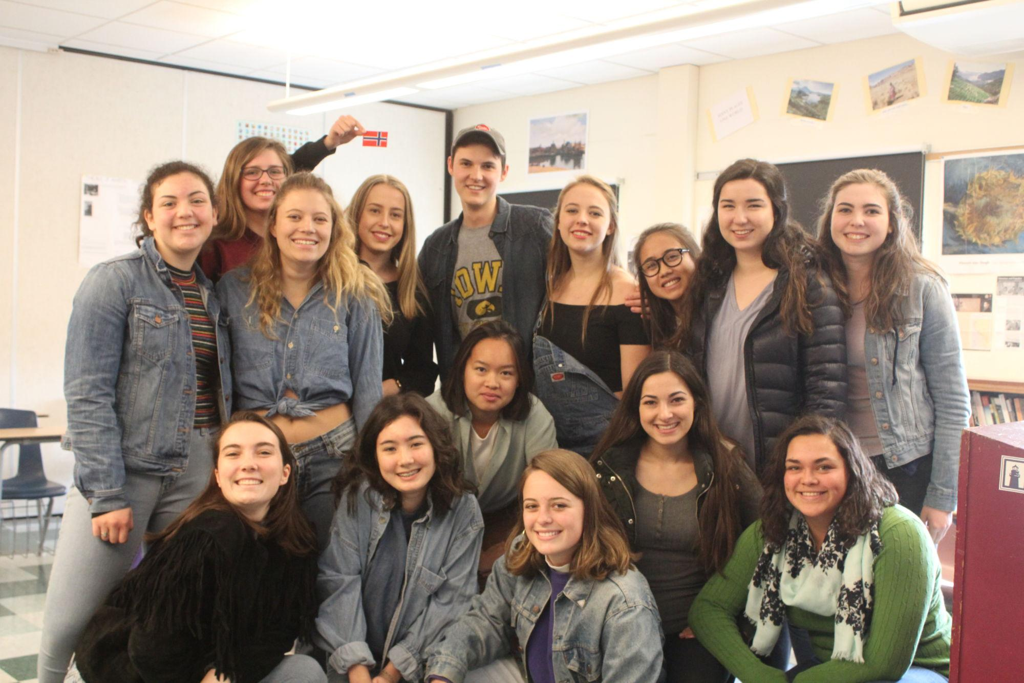 Norwegian student adapts to Redwood community after experiencing Santa Rosa fires