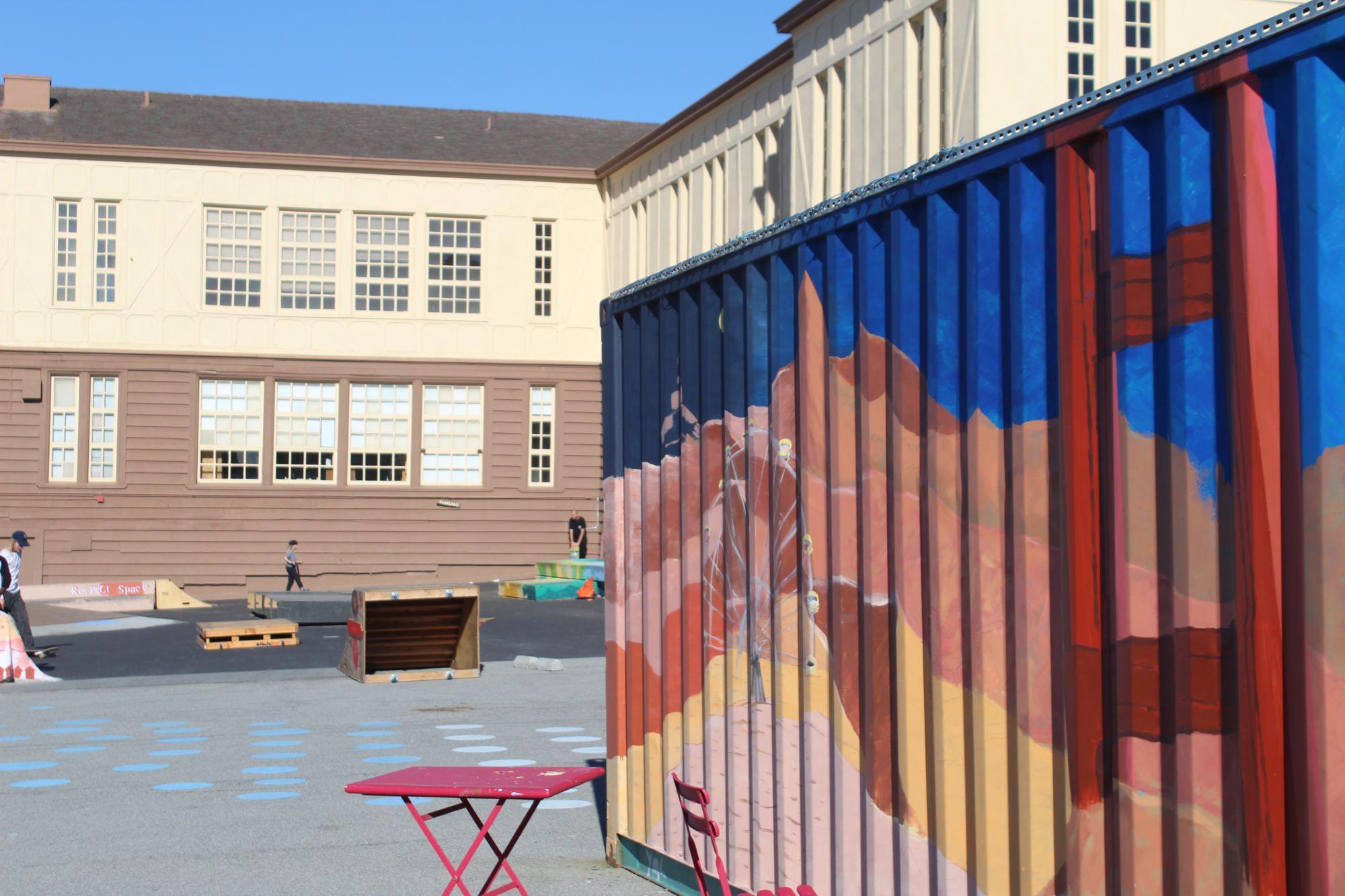 Staff members support San Francisco's teacher housing project