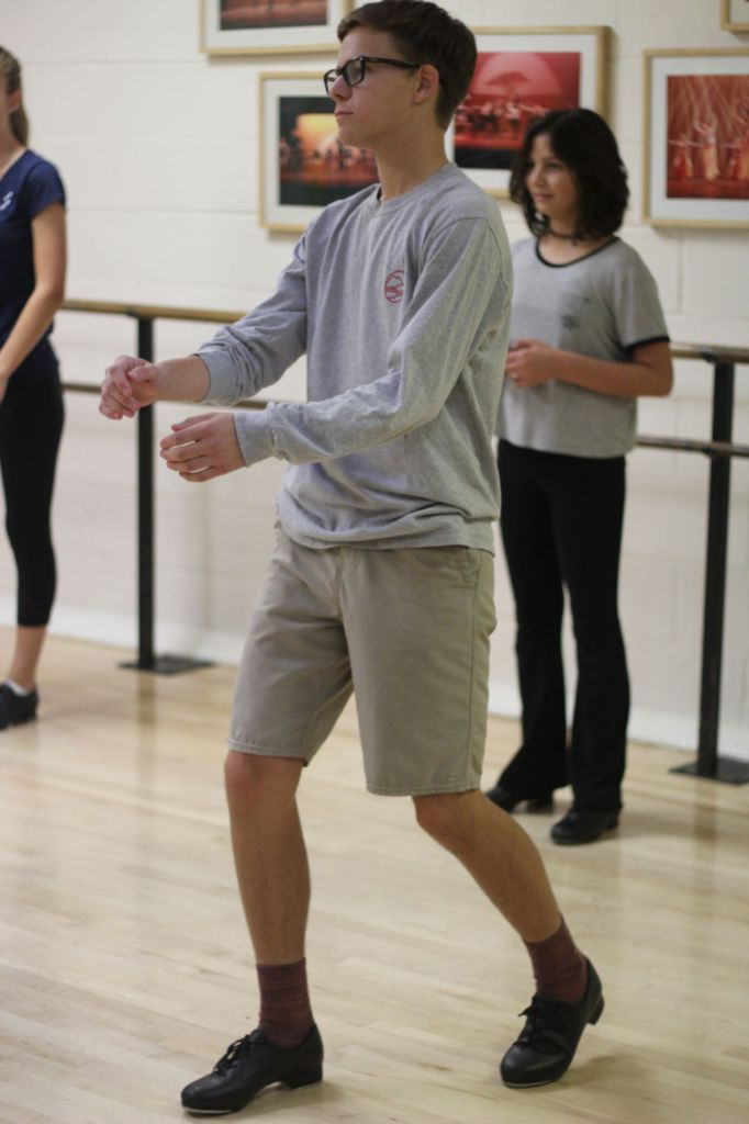 O'Neal on his heels: The freshman tap dancer
