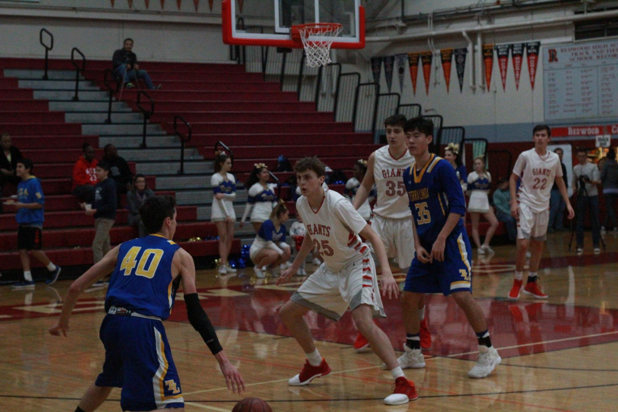 Boys Varsity Basketball dominates Terra Linda