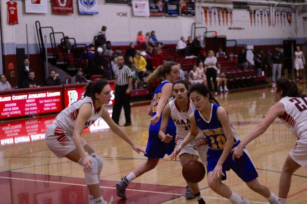 Girls' Varsity Basketball topples Terra Linda 74-26