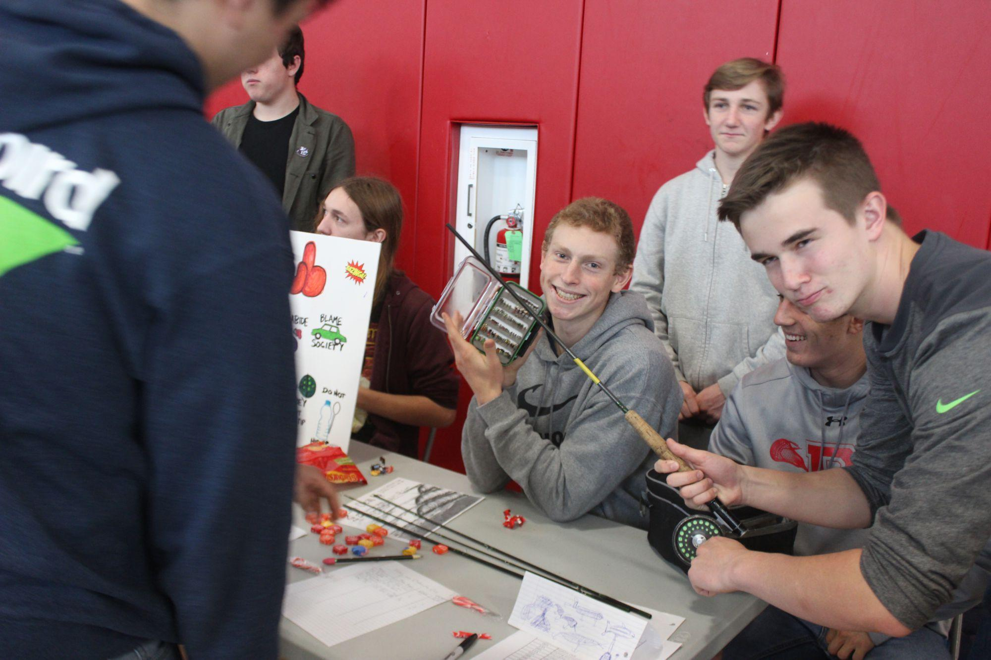 Club day encourages students to join new activities
