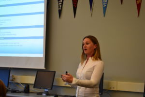 Candace Saffery Neufeld came to Redwood to speak on January 30.