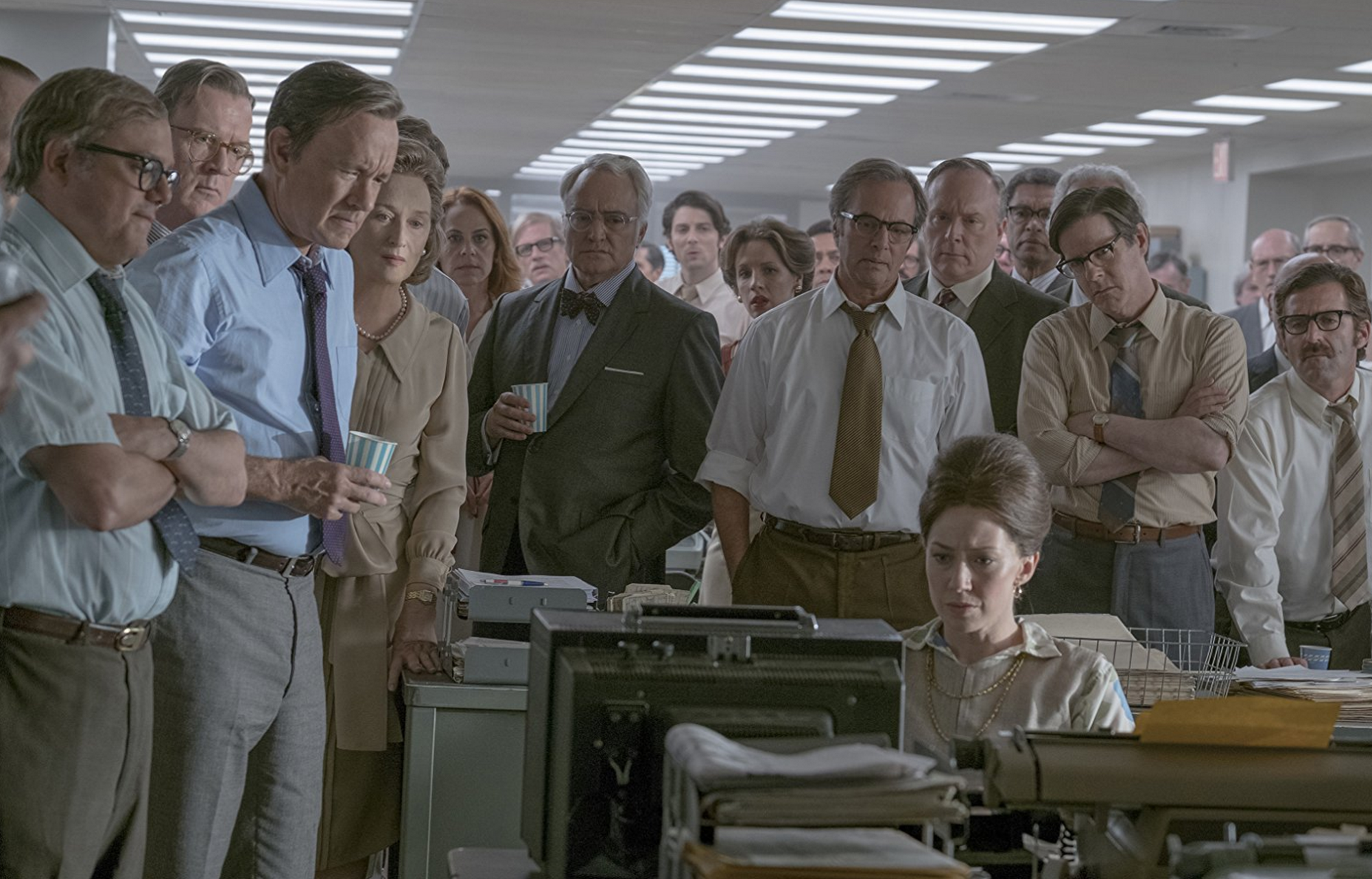 Prior to the Watergate scandal, The Post leaves viewers on edge