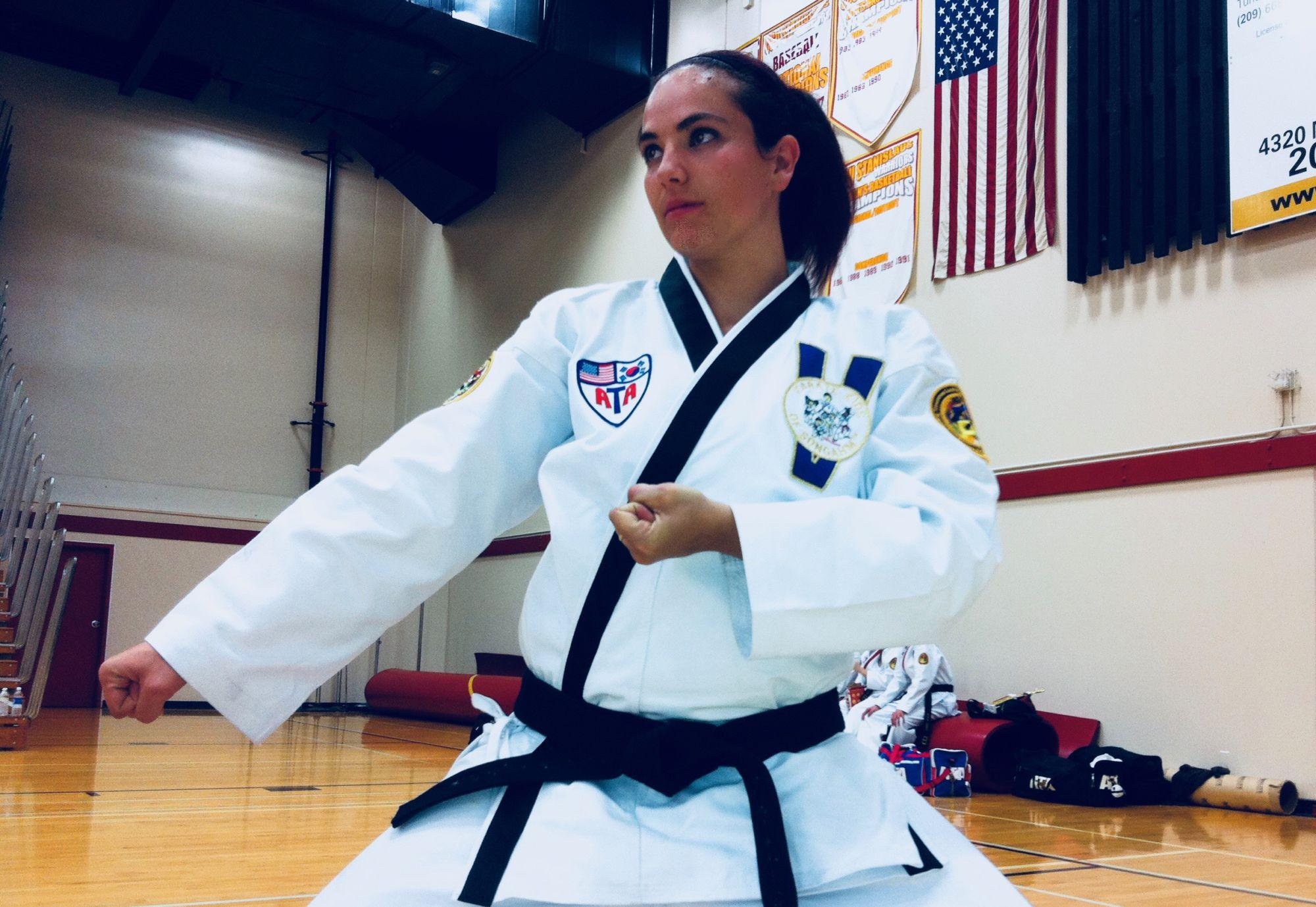 Just for kicks; Teacher balances teaching and Taekwondo