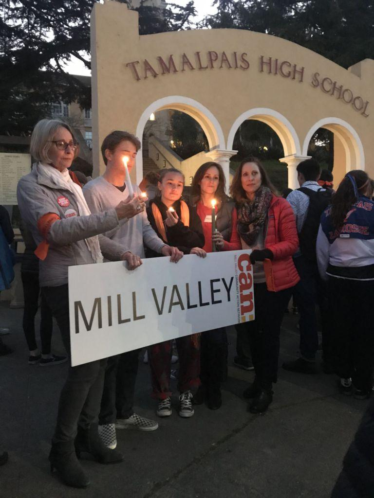 Tamalpais High School students take first steps in addressing tragic Florida school shooting