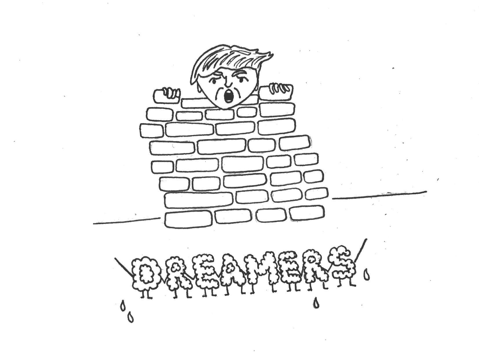 Build the wall to save the Dreamers: Trump's heartless ultimatum