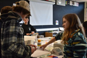 Art Explorations and Graphic Design teacher Nicole Mortham said that the curriculum taught in her prerequisite provides multiple skills that are transferable to higher level art classes.