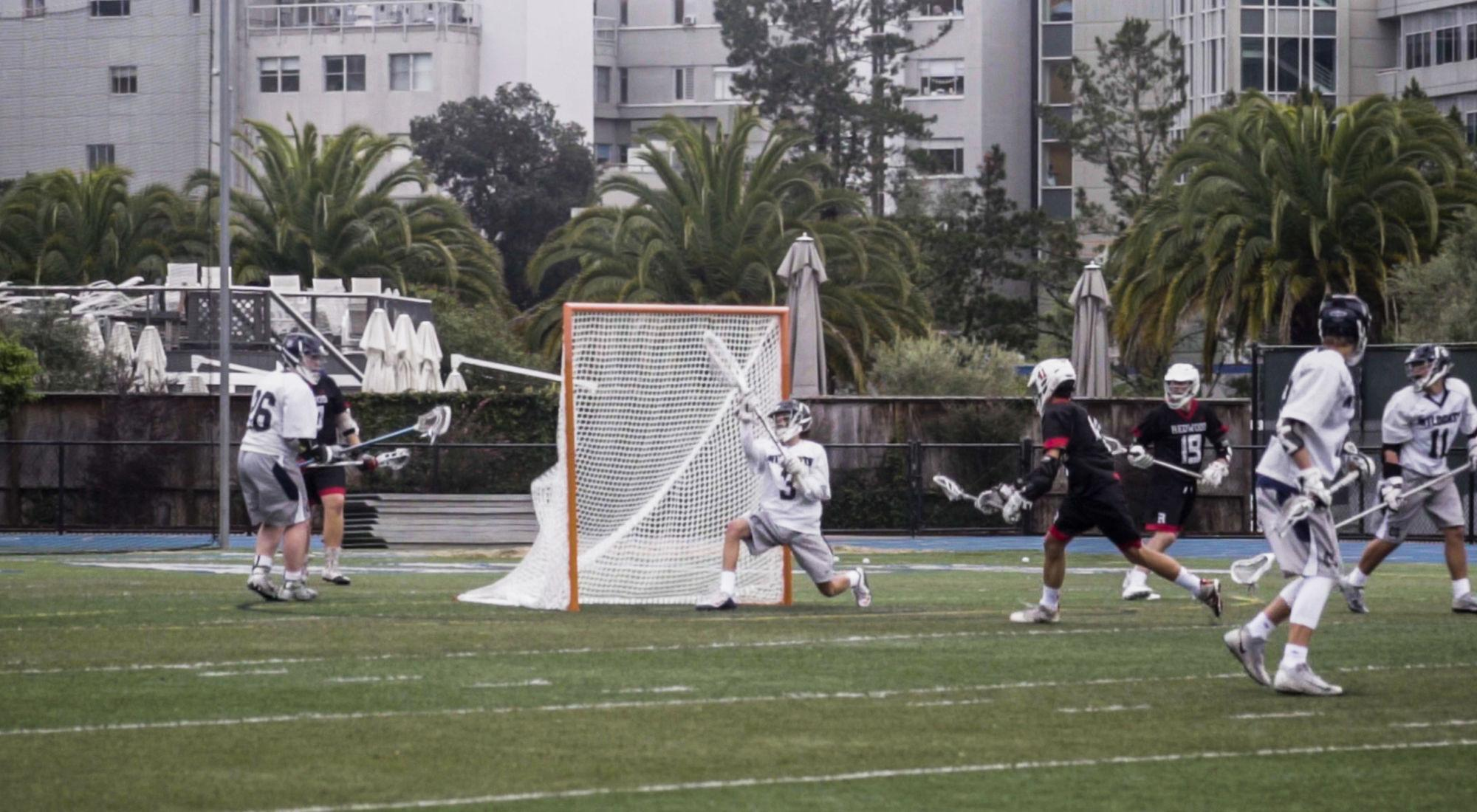 Boys' JV lacrosse brings home win over Marin Catholic
