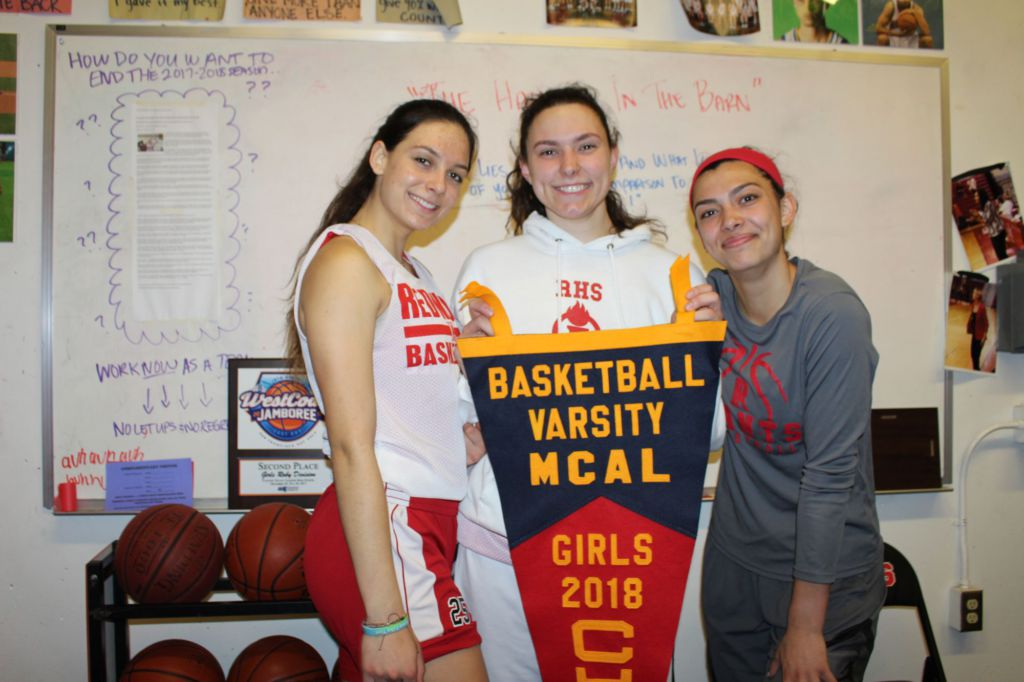 Tactics and a close-knit bond take girls' varsity basketball to the top