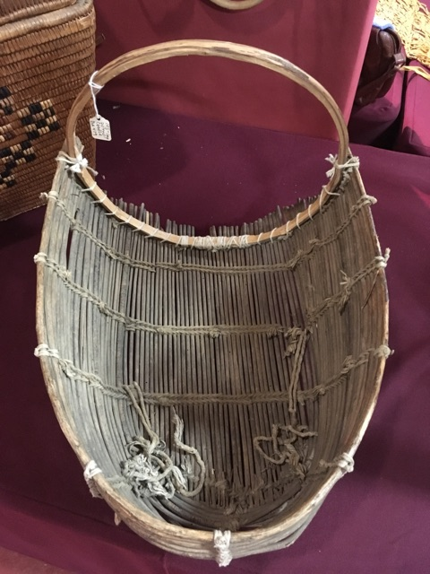 From+the+exhibit+of+California+Indian+basket+buyer+and+seller+Barbara+Murphy%2C+a+Pomo+tribe+baby-cradle+is+showcased.