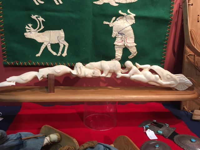 Donald+Phelp%E2%80%99s+%E2%80%9CCreation+Story%E2%80%9D+sculpture+made+of+walrus+tusk+ivory.+Phelps+acquired+this+carving+from+the+Seattle+World%E2%80%99s+Fair+in+1962.