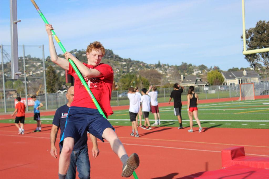 Track and Field jumps into new season with pole vaulting program