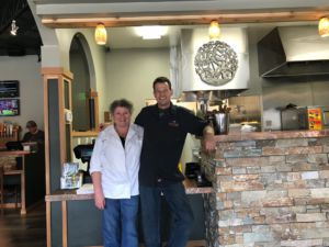 Creekside founders head chef Janet Abrahamson(left) and owner Pat Townsley.
