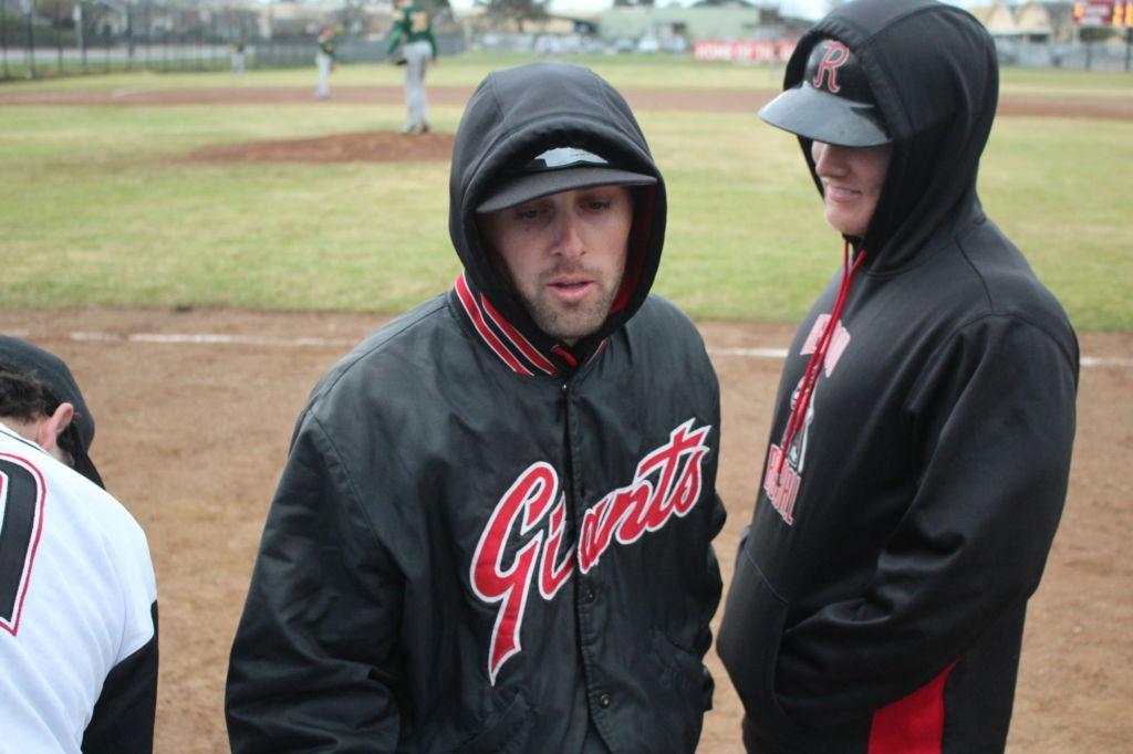 Freshman baseball head coach and history teacher Taber Watson.