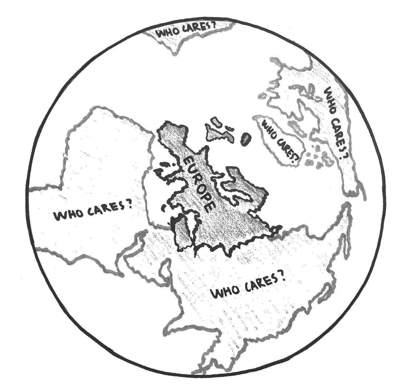 World History bias towards European accomplishments
