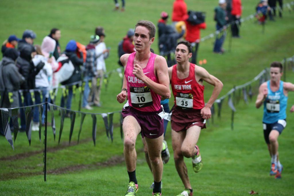 premium selection 33353 da1da Liam Anderson named California's 2018 Gatorade Cross Country ...