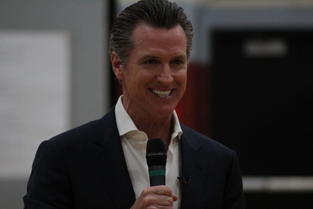 Lieutenant+Governor+Newsom+shares+high+school+and+life+experiences+with+alma+mater