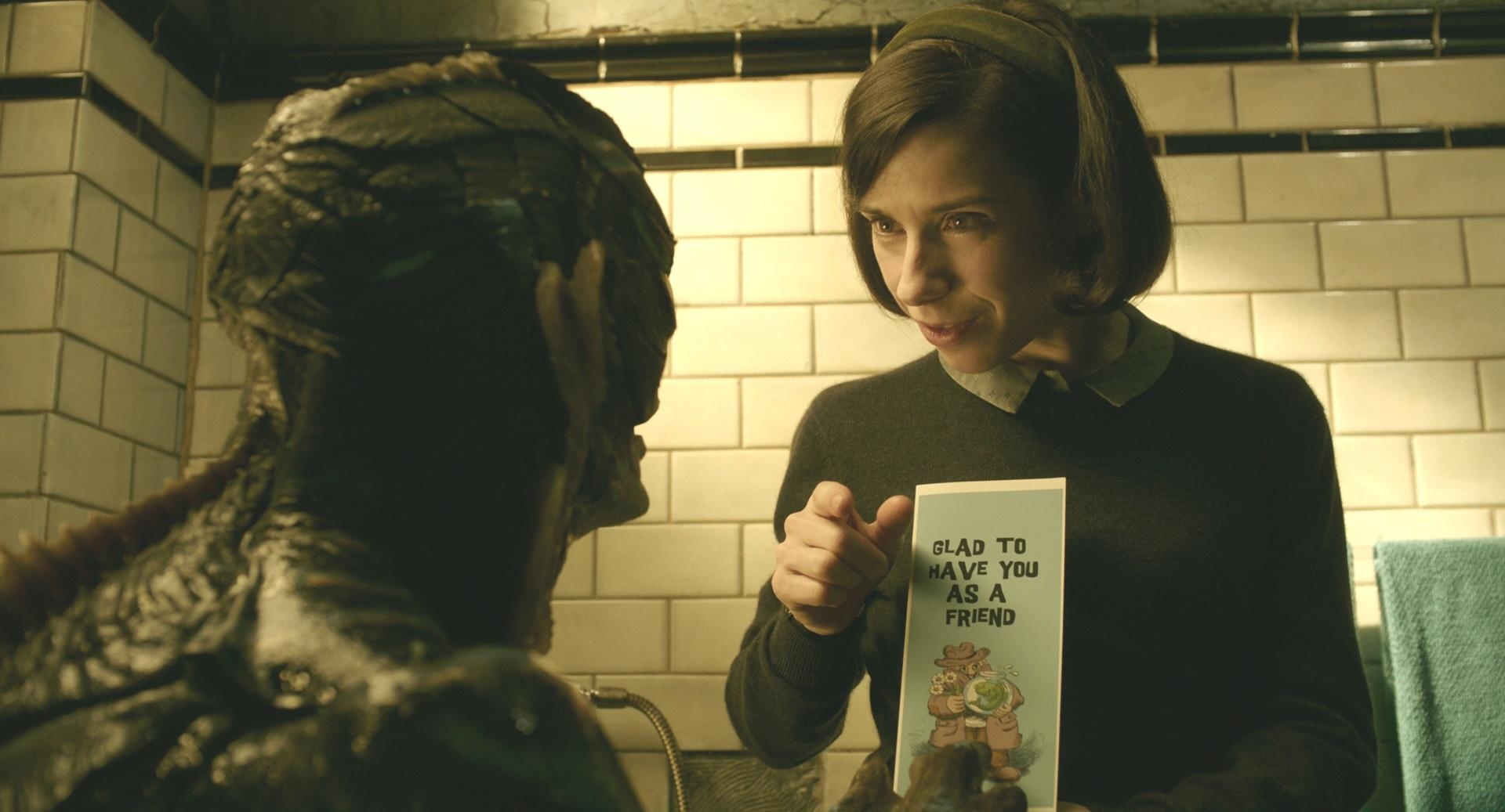 The Shape of Water tells an unconventional love story