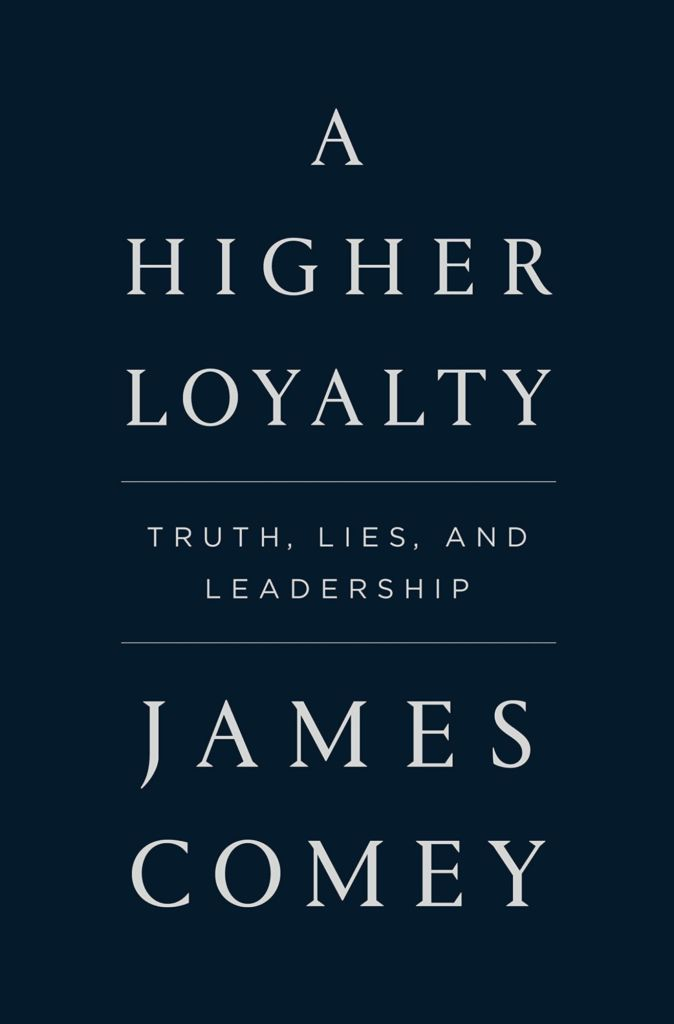 """A Higher Loyalty"" wows …. After 200 pages"
