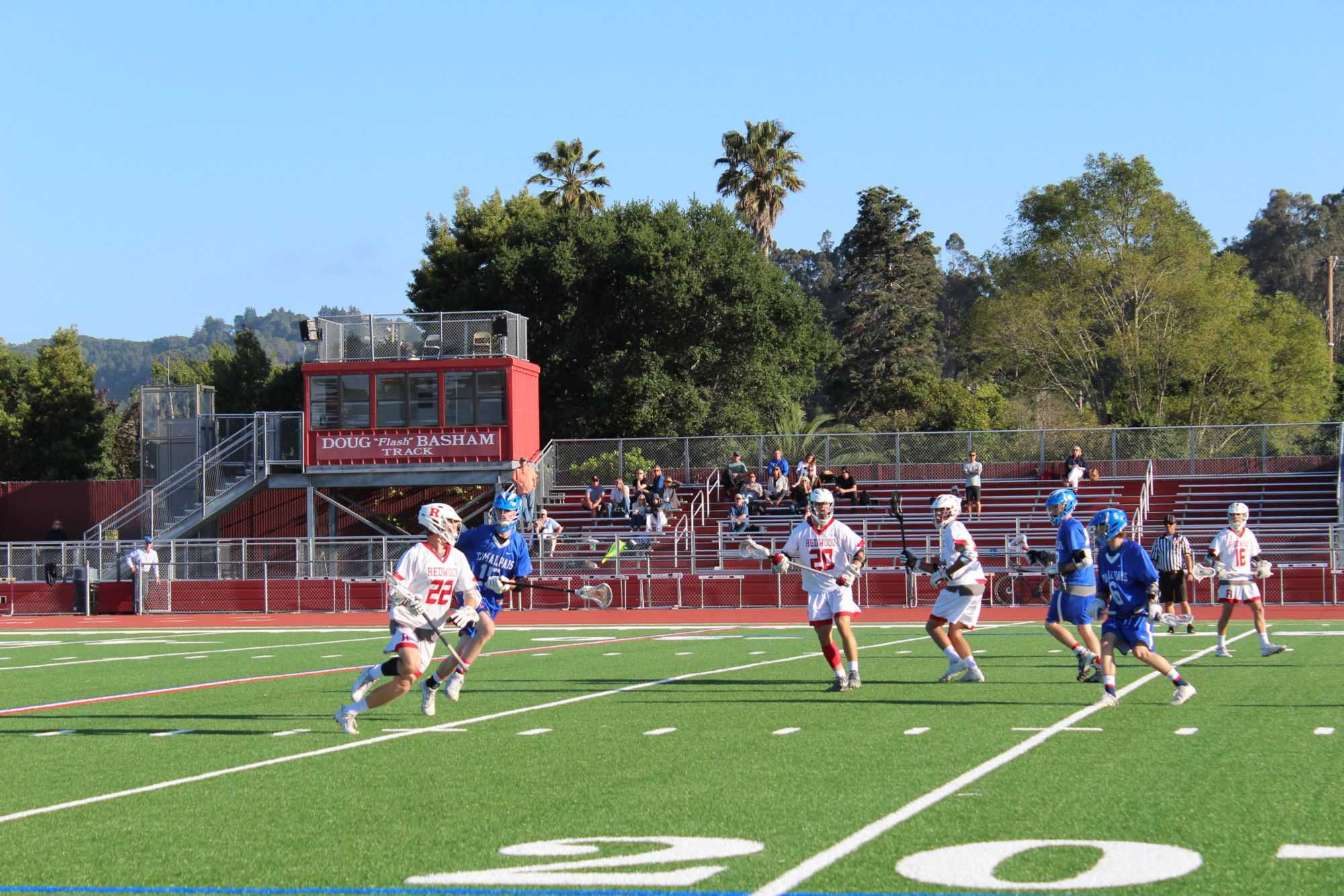 Boys' varsity lacrosse advance to MCAL championship after win against Tam