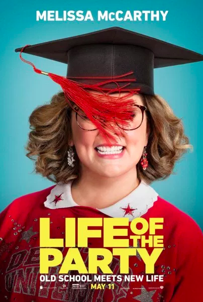 """Life of the Party"" livens up reality of college with improbable depiction"