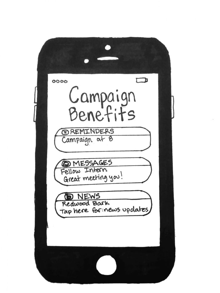 Joining a campaign provides many benefits for high school students.