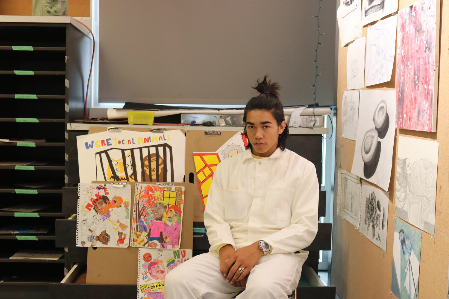 Senior Nick Cook wins Bay Area art competition