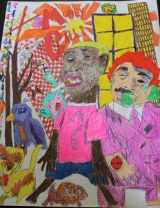 Nick Cook's artwork