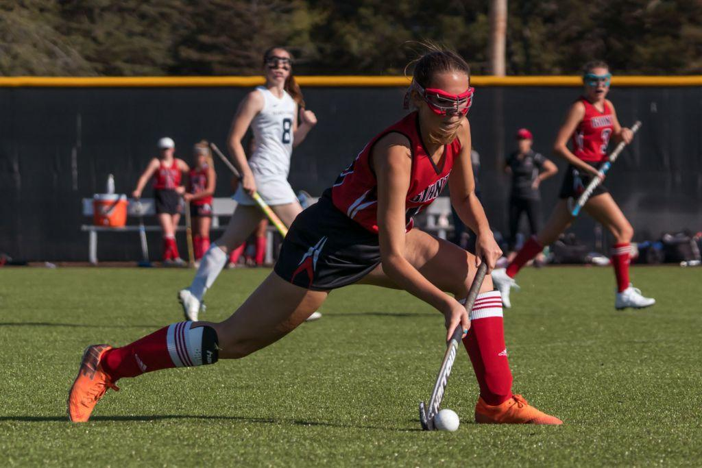 Varsity field hockey shuts down Marin Catholic to open league play