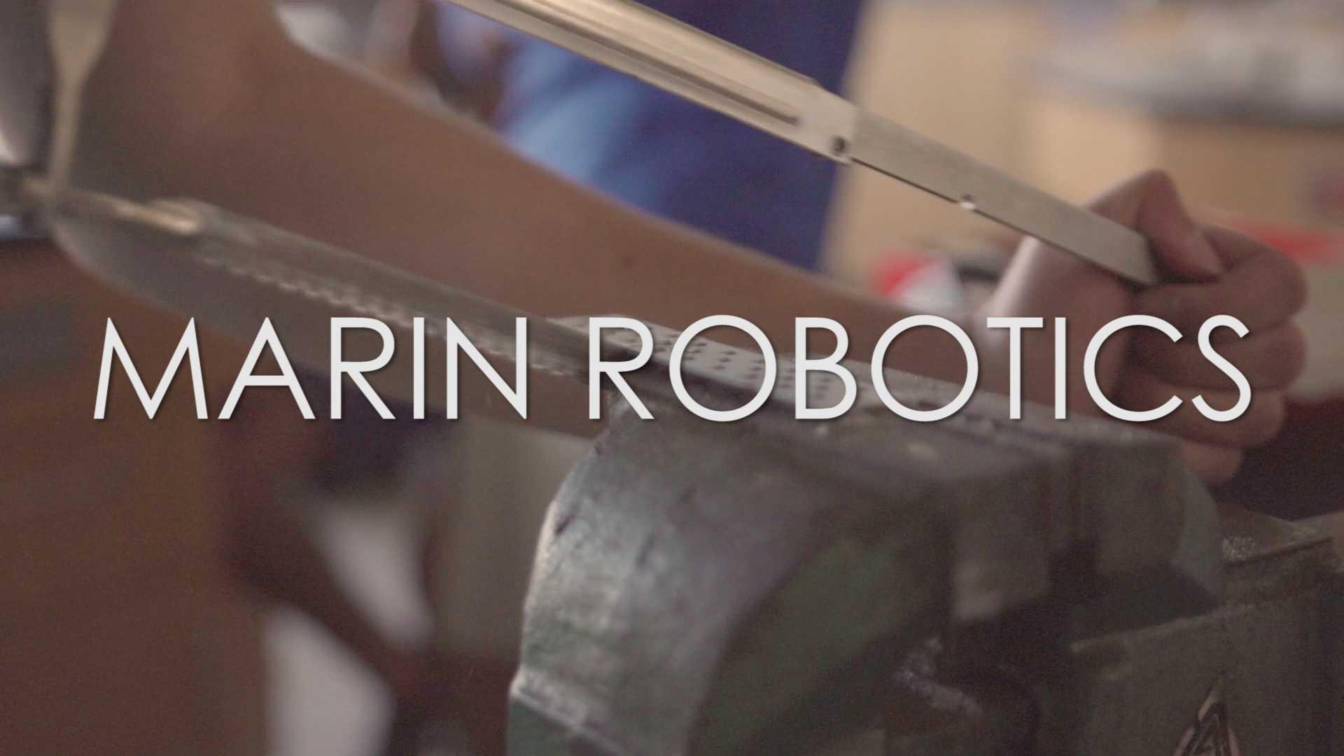Marin Robotics looks to improve upon last year's success