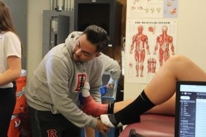 Athletic trainer's influence reaches far beyond the training room
