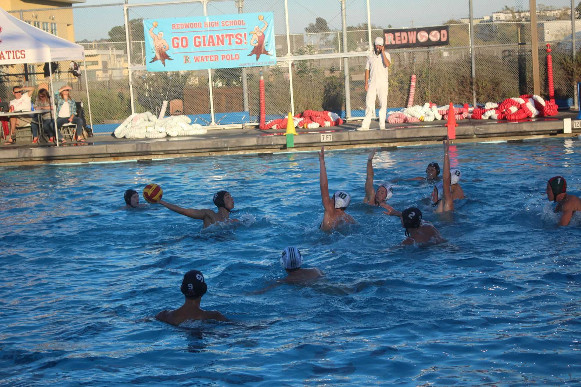 Boys' water polo suffers devastating defeat to Drake to end regular season