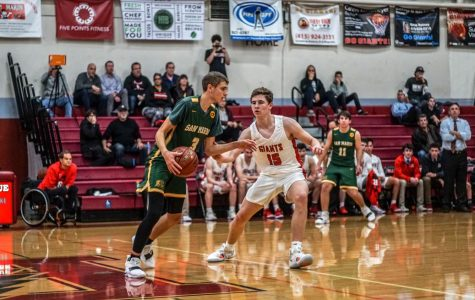 Redwood varsity boys' basketball team manages to seize intense win with weak defense