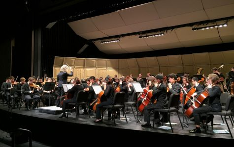 Marin Symphony Youth Orchestra students take the stage at first concert of the year