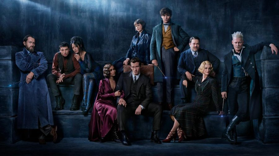 Posing for a cast picture, the movie was full of strong characters and lots of action. (Photo courtesy of Pottermore).