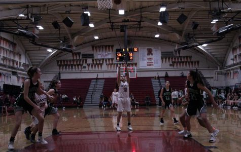 Girls' varsity basketball dominates Drake