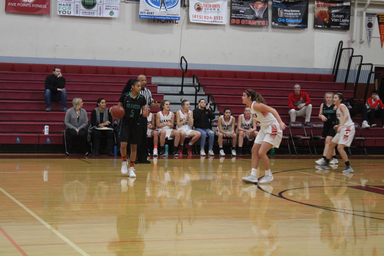 Sophomore+Kylie+Horstmeyer+focuses+on+her+defense.+