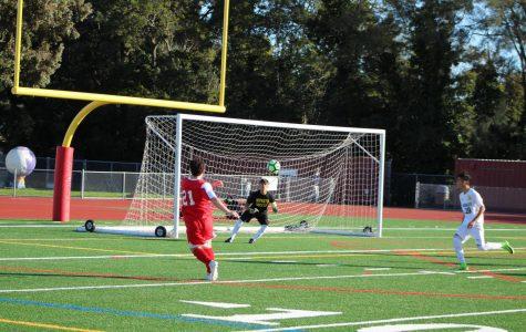 Despite loss against Novato, Redwood varsity boys' soccer remains optimistic