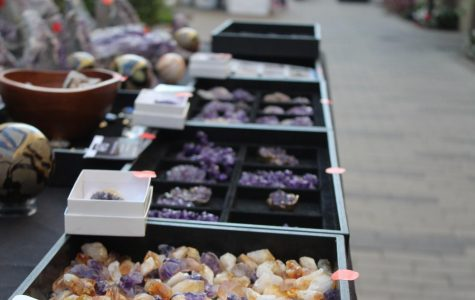Who's behind the booth: a crystal vendor's experience at the farmers' market