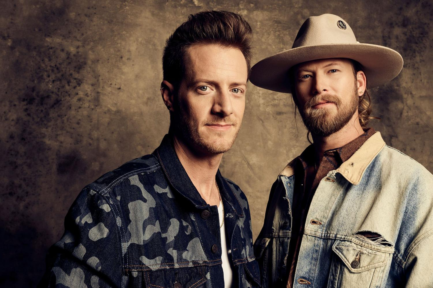 FGL band members Tyler Hubbard and Brian Kelley.
