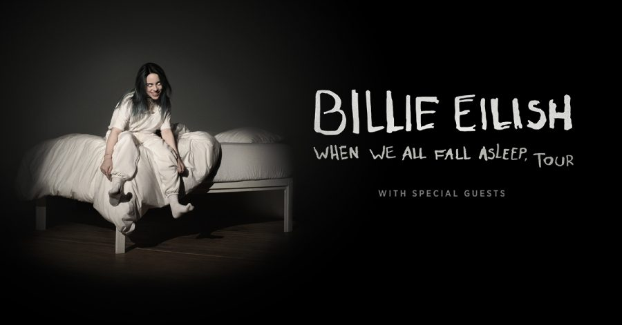 Eilish announces third tour of freshman album WHEN WE ALL FALL ASLEEP, WHERE DO WE GO?