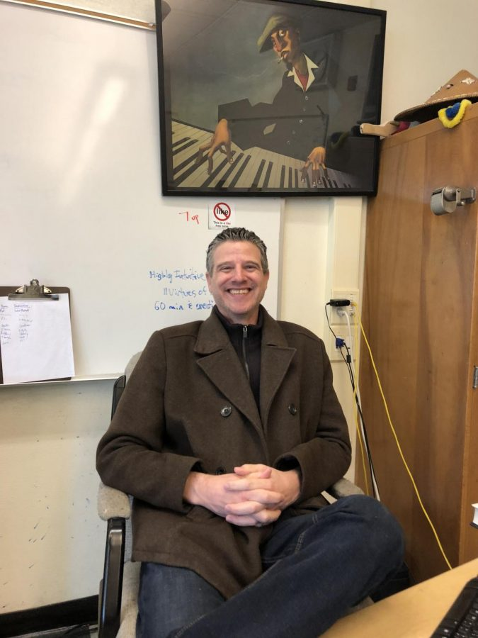 Teacher Alex Franklin brings his perspective of race to Redwood