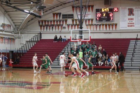 During the current boys' varsity games, the audience can be very small.